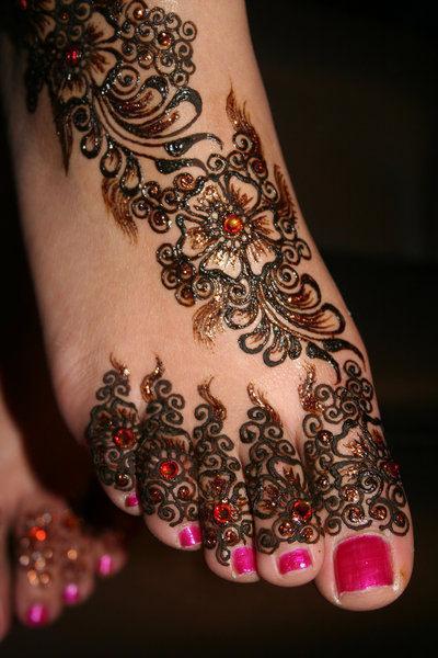 Strass henna - Modele de henna ...